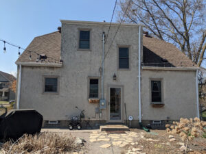 Residential Stucco Restoration Before Image